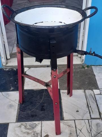 Fritadeira com tacho - Foto 2
