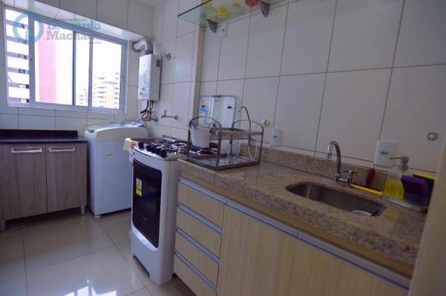 Apartamento com 2 dormitórios à venda, 70 m² por R$ 410.000,00 - Guararapes - Fortaleza/CE - Foto 6