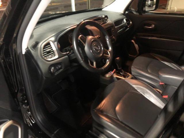 Jeep Renegade Longid 1.8 4 p completa +couro+automática - Foto 6