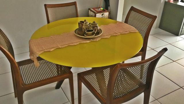 Lindíssima mesa de jantar e e vidro temperado - Foto 5