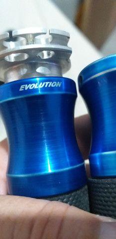 Punho esportivo evolution  em aluminium e borracha