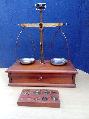Balança de precisão antiga - Foto 3