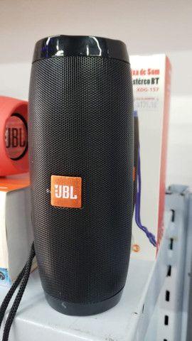 R$179,90 - Caixa De Som Bluetooth JBL 2 Linha Charge Led Neon Usb Mp3 - Foto 2