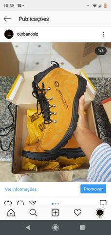 Botas Caterpillar original