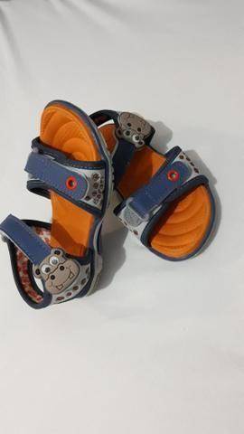 Sandália infantil pra menino