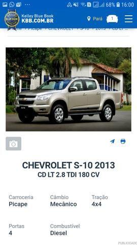 Vendo ou troco S10 Cab. dupla 2013 63.000 R$ - Foto 2