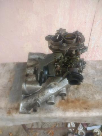 Carburador werber 1.6 álcool AP e coletor admissão escape gol quadrado - Foto 16