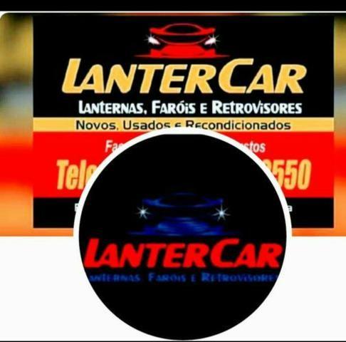 Farol lanterna retrovisor Sandero Logan Clio Kangoo - Foto 2