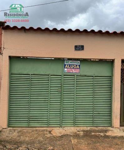 Casa com 2 dormitórios para alugar, 68 m² por R$ 450/mês - Vila Góis - Anápolis/GO