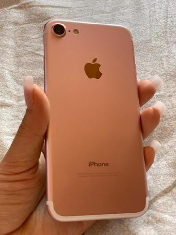 IPhone 7 - 128g , rosê - Foto 2