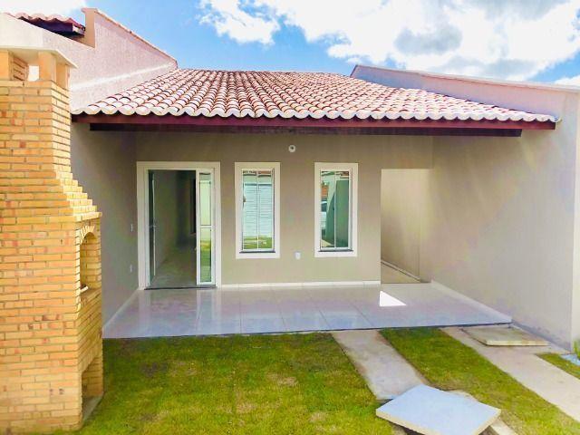 JP linda casa com 2 quartos 2 banheiros otimo acabamento com doc. gratis - Foto 3