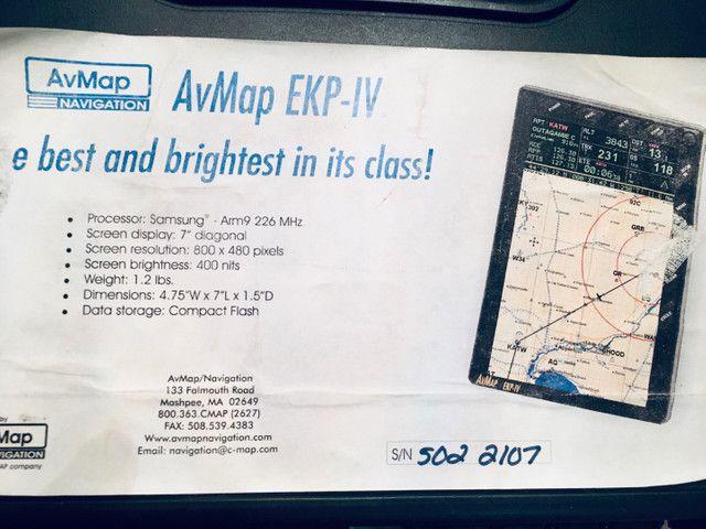 GPS aeronáutico AvMap EKP IV - Foto 3