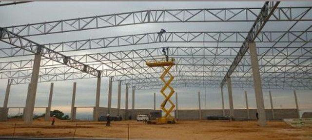 Estrutura Metalica  Barracão  Galpão  - Foto 3