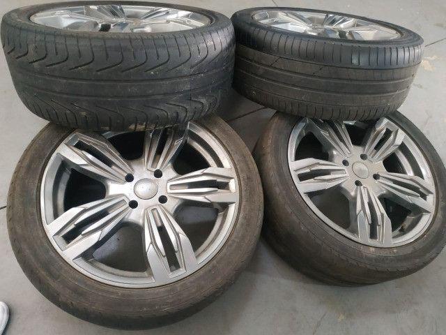 Rodas esportivas aro 17 c/ pneus