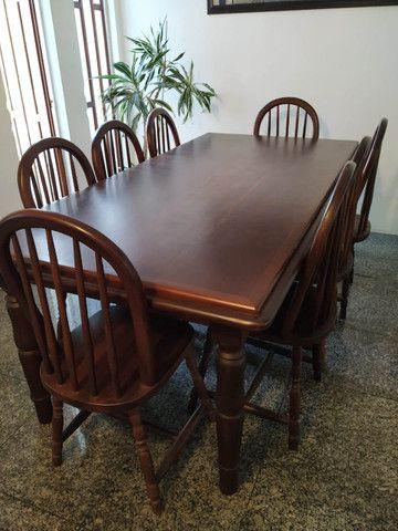 Conjunto Mesa de jantar com 8 cadeiras
