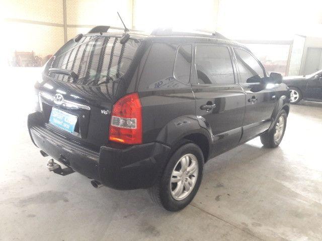 Hyundai tucson gls 2.7 v6 4x4 ano 2007 -automatica - valor: 29.999,99 - Foto 16