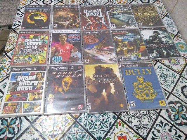 "PlayStation 2 + TV Sony Wega de 29"" + 14 jogos e 01 Memory Card - Foto 3"