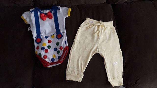 Body bebê calça casaquinho - Foto 3