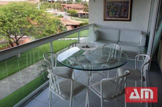 Vendo Excelente Flat mobiliado em condomínio com estrutura de lazer em Gravatá. - Foto 4