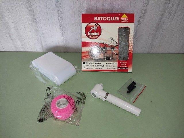 KIT- Mixer para Pigmentos + Bandagem + Protetor ClipCord + Batoque