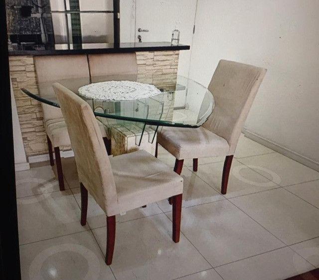 Mesa de centro com base de mármore - Foto 2