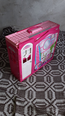 Casa da barbie (grande e pode levar para qualquer lugar!)