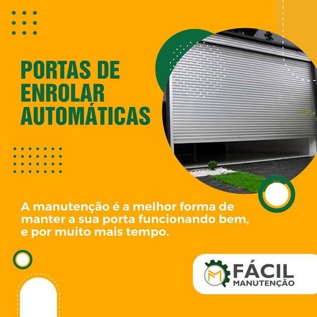 Vendo e Compro Porta de enrolar automática recondicionada