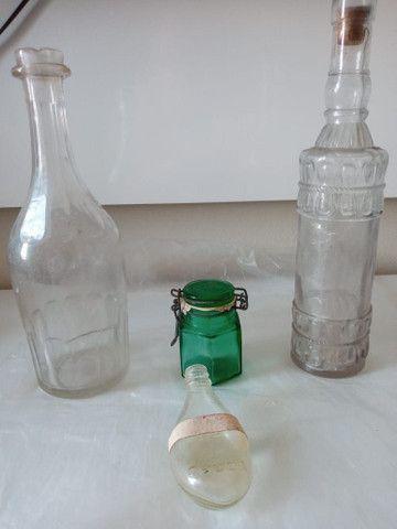Conjunto de Vidros Antiguidades