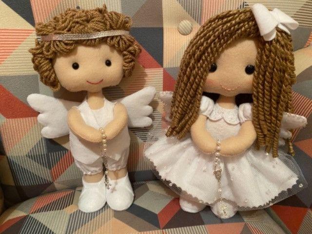 Enfeites Batizado - Anjos - Foto 4
