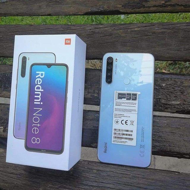 128 Gigas de memória ' Smartphone Android 10 ' Dual Chip ' Note 8 _128 Xiaomi - Foto 5