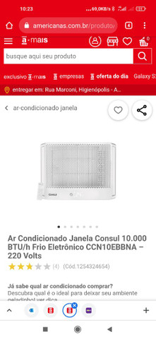 Ar-condicionado de janela novo(na caixa) - Foto 2