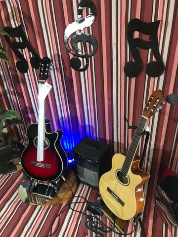 GNF-1D CEQ violão nailon eletroacústico *Promoção!* em até 10x sem juros - Foto 5
