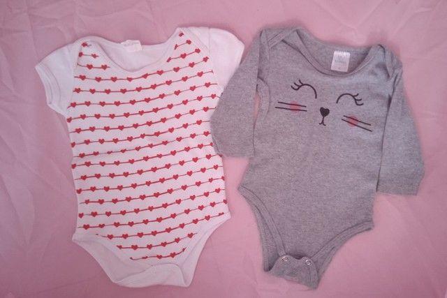 Lote roupa menina (0-6 meses) - Foto 2