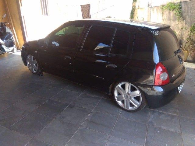 Vendo ou troco Renault Clio Legalizado - Foto 3