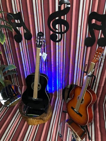 GN- 15 violão Nailon (preto e Natural)  em 6 vezes sem juros *Promoção!!!*  - Foto 4