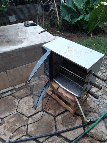 Oportunidade única aproveita churrasqueira elétrica