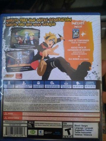 God of war e Naruto Storm Road boruto - Foto 2