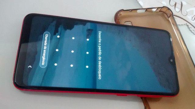 Samsung Galaxy A 10 vermelho pra vender logo - Foto 3
