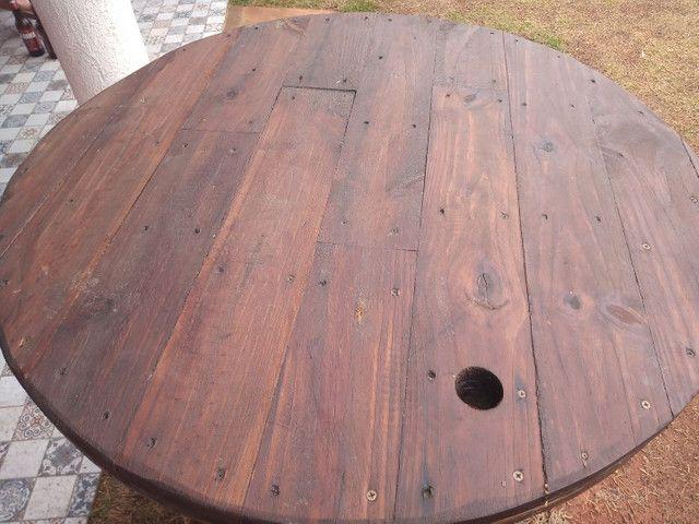 Barris com tampo de madeira - Foto 2