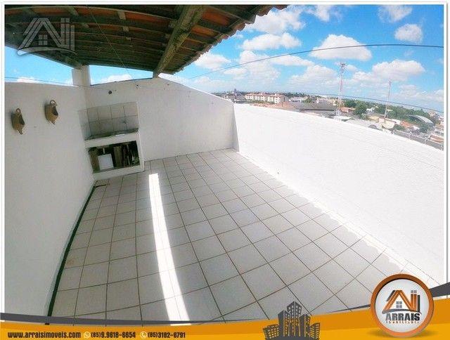 Apartamento com 3 dormitórios à venda, 118 m² por R$ 300.000,00 - Vila União - Fortaleza/C - Foto 12