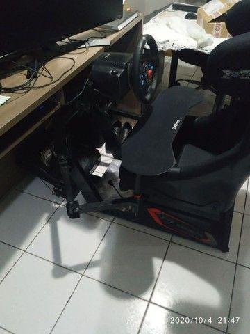 Cockpit extreme p1 estação completA com suporte articulado