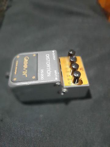 Pedal De Efeito Ds 200 Para Guitarra Groovin Distortion - Foto 2