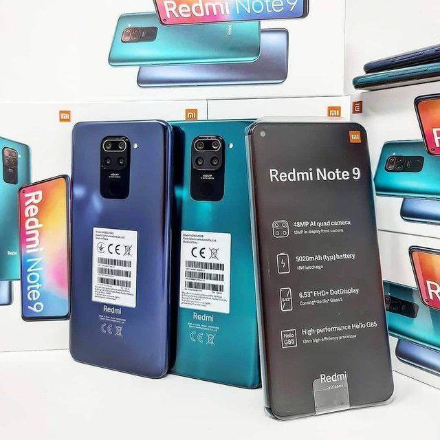 Mais vendido do momento - Smartphone Xiaomi Redmi Note 9 , são 64 Gigas de memória  - Foto 4
