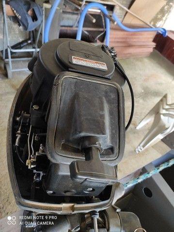 Motor de popa 15 HP - Foto 5