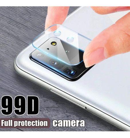 Lente da Câmera de proteção p/ samsung A51 A71 A21/A21S A30s Xiaomi note 8/8T