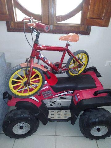 Bicicleta e moto infantil