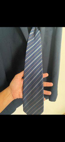 Terno completo+gravata+calça extra - Foto 3