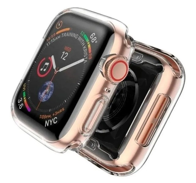 Caixa / Case de proteção Apple Watch 4,5,6,W26,W46, Y60... 44mm - Foto 2