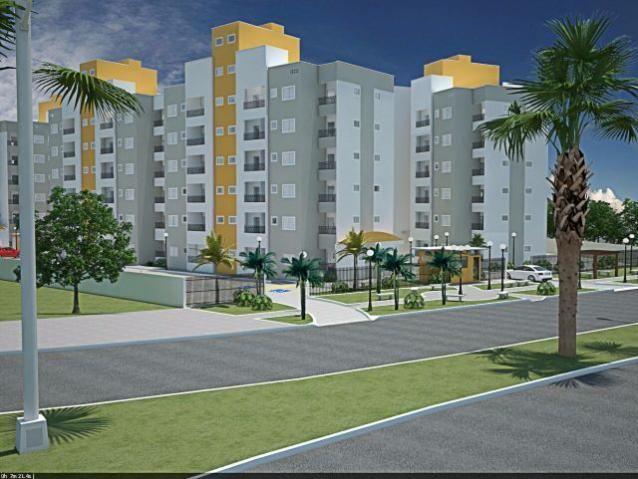 Apartamento, Dois Quartos sendo Uma Suíte, 63m², Uma Vaga, Duas Sacadas, 506 NORTe