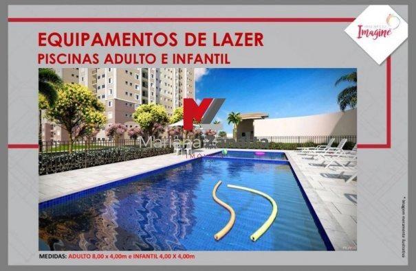 Residencial Imagine - Apartamento em Lançamentos no bairro Lagoa Seca - Santa Bá... - Foto 6
